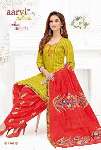 Aarvi Fashion Indian Patiyala Vol-1 4961-4972 Series