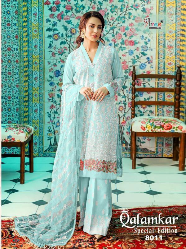 Shree Fabs Qalamkar Special Edition 8011-8016 Series