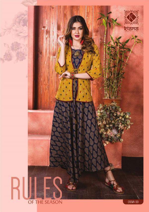 Kianaa Fashion Crown 001-010 Series