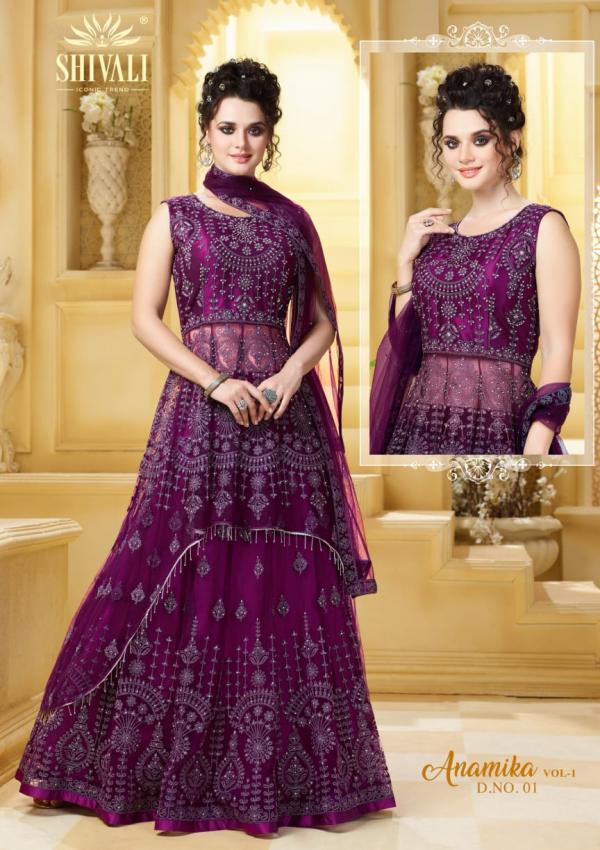 Shivali Fashion Anamika Vol-1 01-05 Series