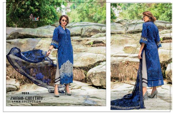 Shree Fabs Zainab Chottani Lawn Collection 7011-7016 Series