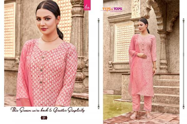 Tips & Tops Batik Vol-1 01-06 Series