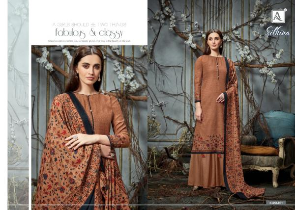 Alok Suits Silkina 458-001-458-008 Series
