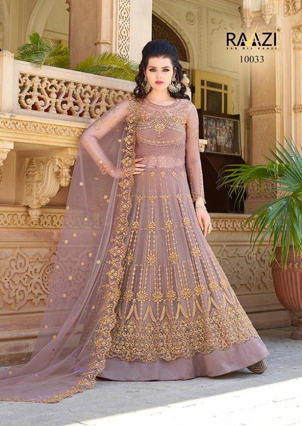 Rama Fashions Raazi Aroos 10033 Colour Plus
