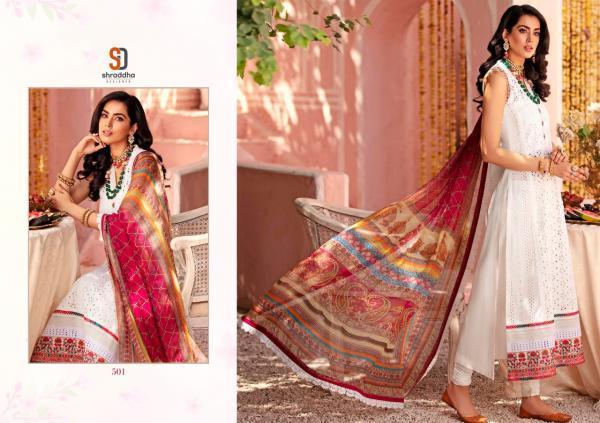 Shraddha Designer Noor Vol-5 501-504 Series