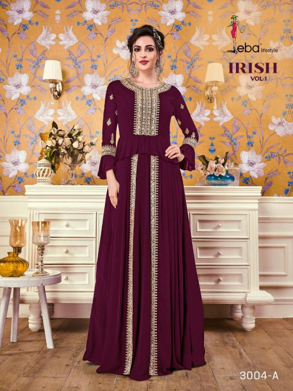 Eba Lifestyle Irish Vol1 3004 Colors Dress