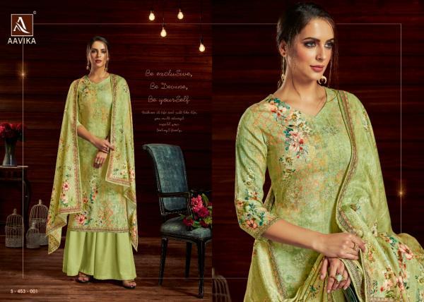 Alok Suit Aavika 453-001-453-008 Series