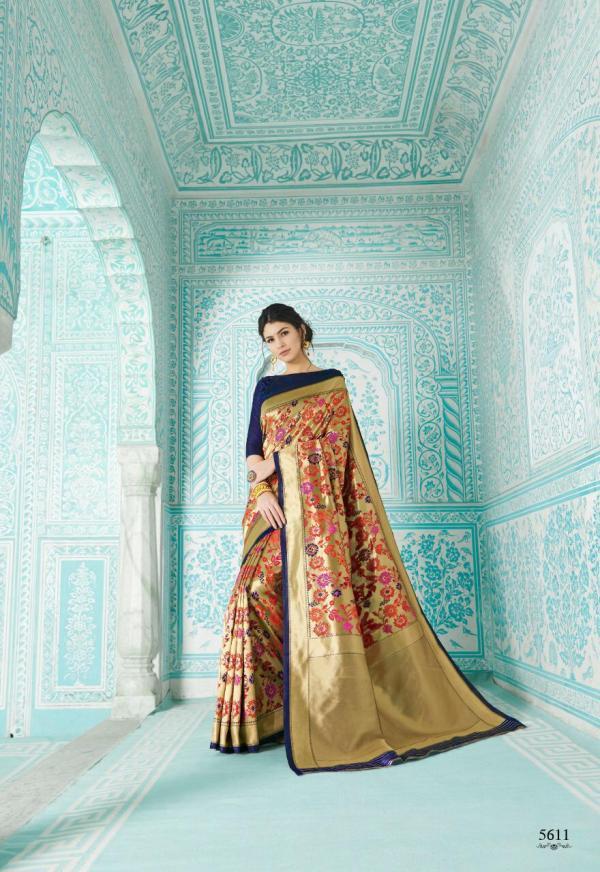 Shangrila Saree Paithani 5611-5616 Series