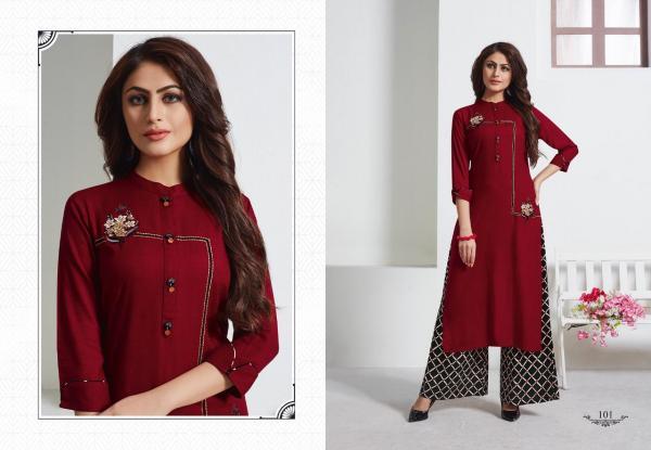 LT Fabrics Nitya Floss 101-110 Series