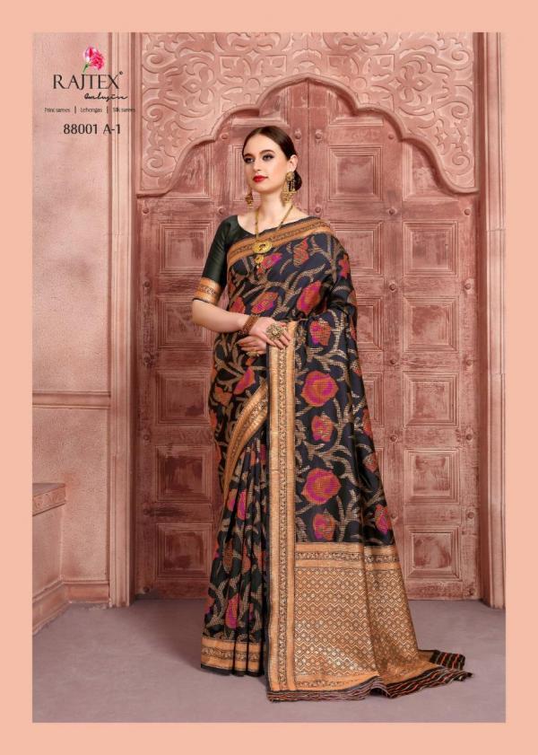 Rajtex Saree Kalyanam Silk 88001 A Colors
