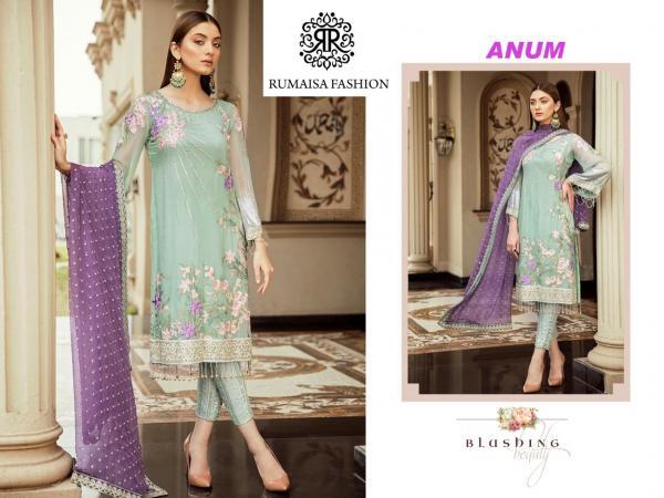 Rumaisa Fashion Anum Dress Material