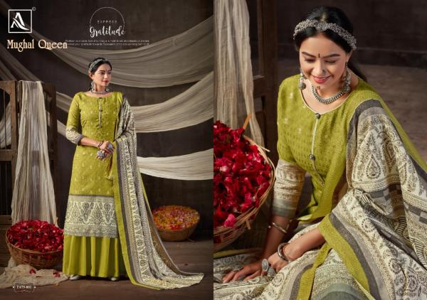 Alok Suits Mughal Queen 679-001-679-008 Series