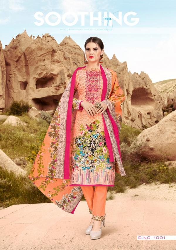 AZ AL Zohaib Roohi Lawn Collection 1001-1010 Series