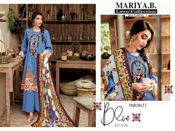 Mariya B Lawn Collection 2ND Addition 11-15 Series