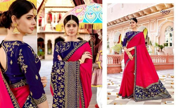 Saroj Saree Samaira Vol-2 260001-260008 Series