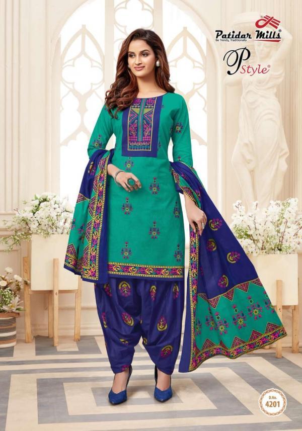 Patidar Mills P Style Vol-42 4201-4216 Series
