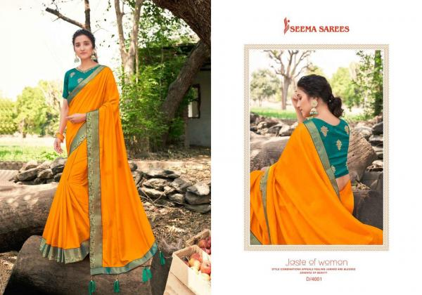 Seema Saree Kohinoor Heera 4001-4008 Series