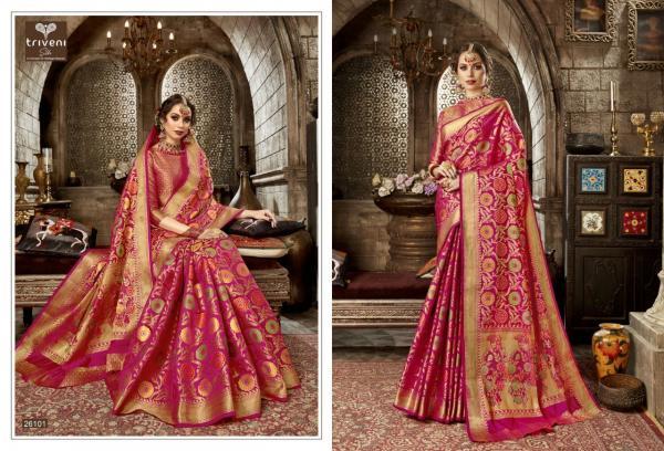 Triveni Saree Pratyusha 26101-26106 Series