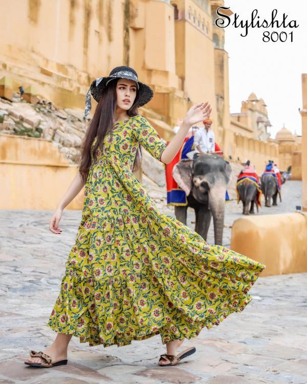 Stylishta Gown Vol-8 8001-8004 Series