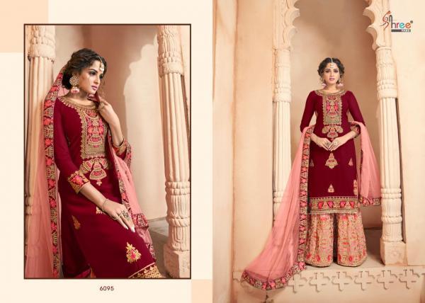 Shree Fabs Shehnai Vol-19 Bridal Collection 6095-6100 Series