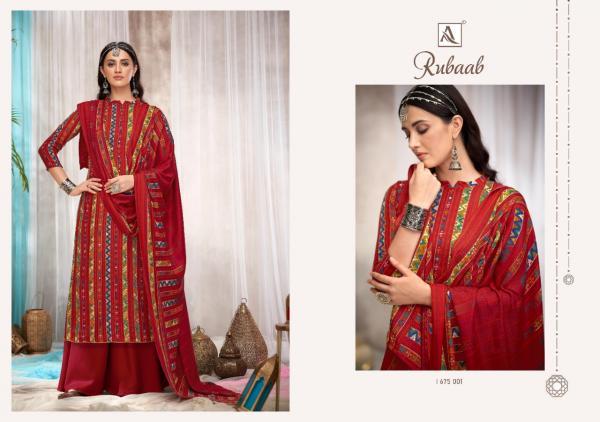 Alok Suits Rubaab 675-001-675-010 Series