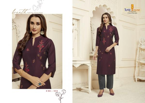 Tunic House Nilu With Pant Vol-2 1014-1017 Series