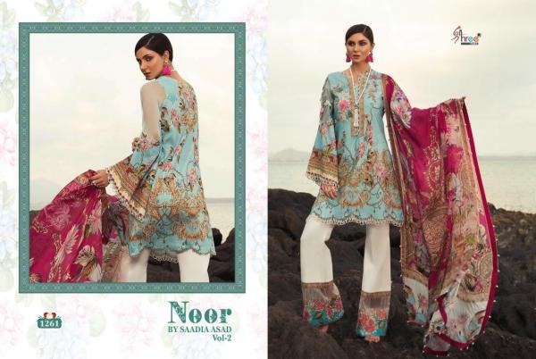 Shree Fabs Noor By Saadia Vol-2 1261-1267 Series