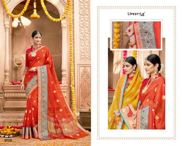 Lifestyle Saree Kavita Vol-2 54581-54592 Series