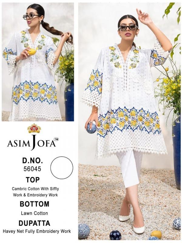 Asim Jofa Super Hit 56045 Dress Material