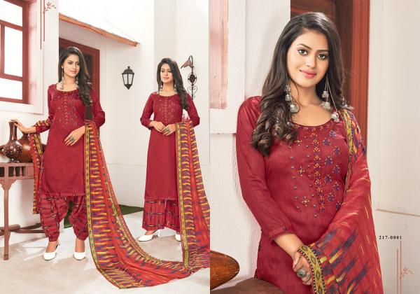 Kay Vee Suits Nazar e Patiyala 217-0001 to 217-0008 Series
