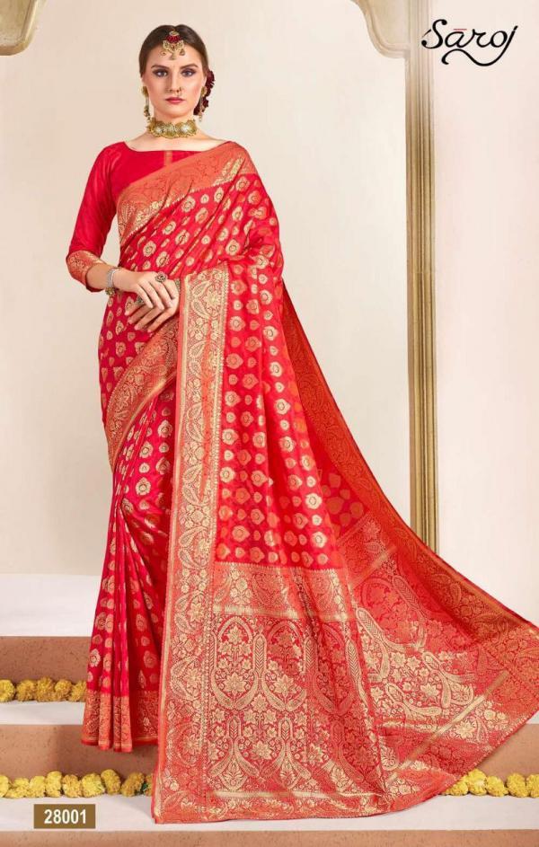 Saroj Saree Satvika-2 28001-28006 Series