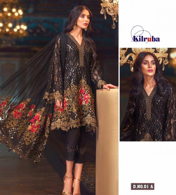 Kilruba Jazmin Colors Vol2 Luxury Collection 01 Pakistani Suits