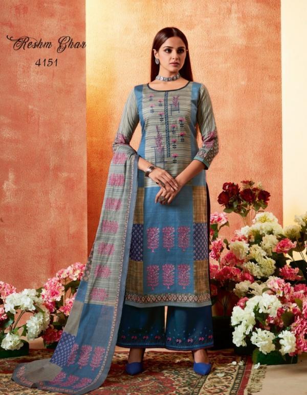 Kessi Fabrics Resham Ghar 4151-4158 Series
