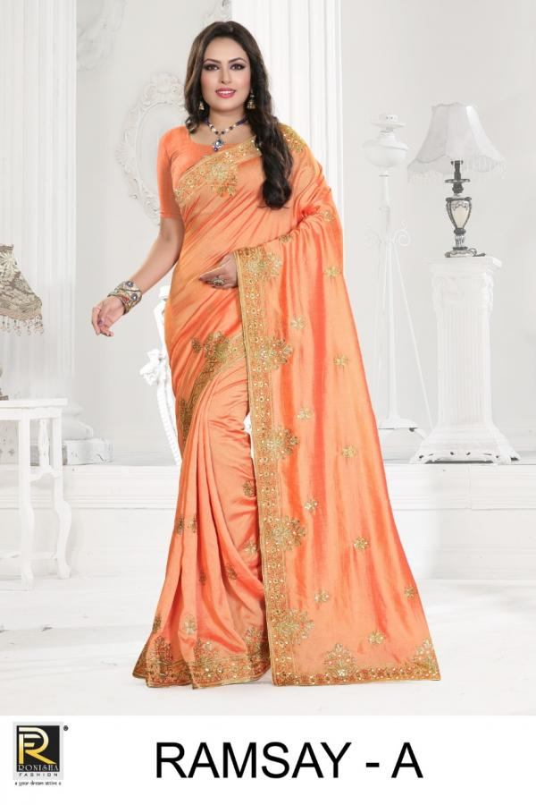 Ranjna Saree Ramsay Colors