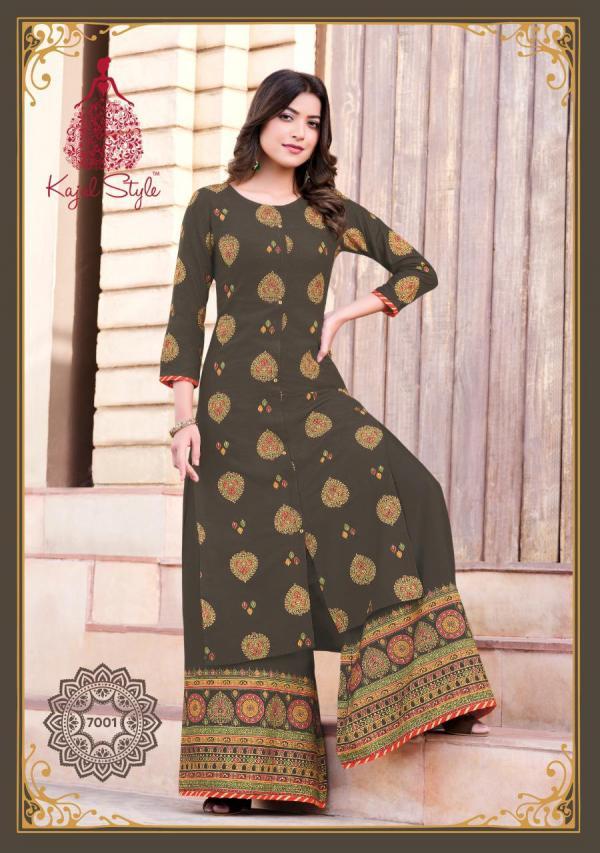 Kajal Style Fashion Label Vol-7 7001-7010 Series