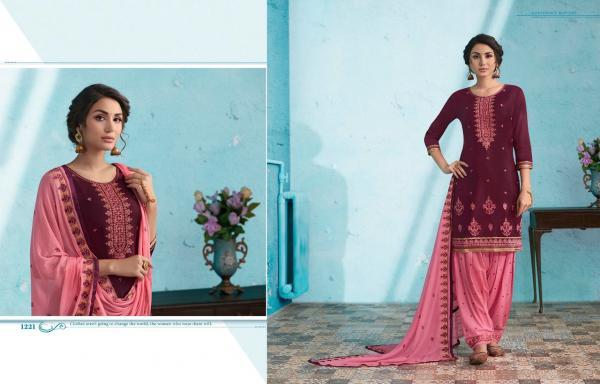 Kajree Fashion Of Patiyala Vol-24 1221-1230 Series