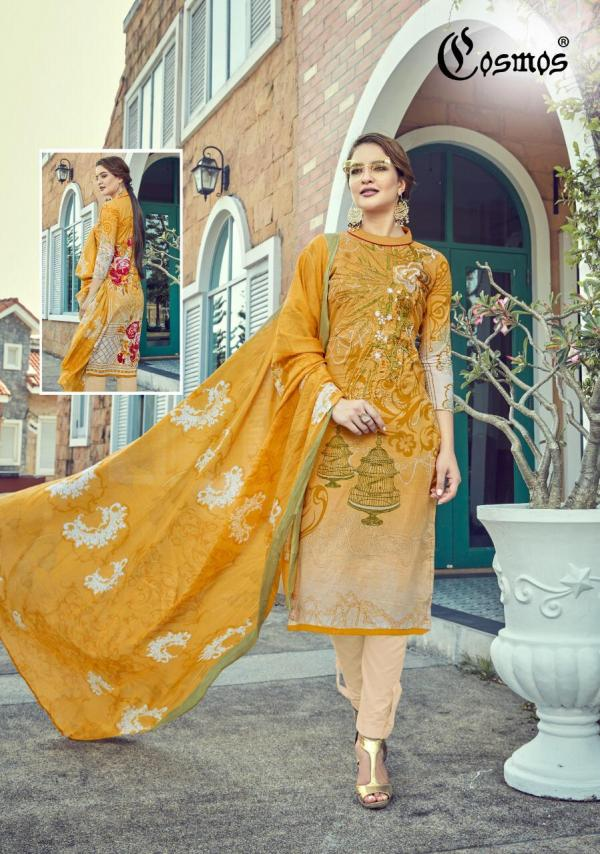 Cosmos Fashion Saadia Noor Lawn Collection Vol-3 3001-3008 Series