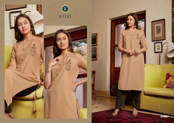 Kalki Fashion Sunehri Vol-2 21001-21006 Series