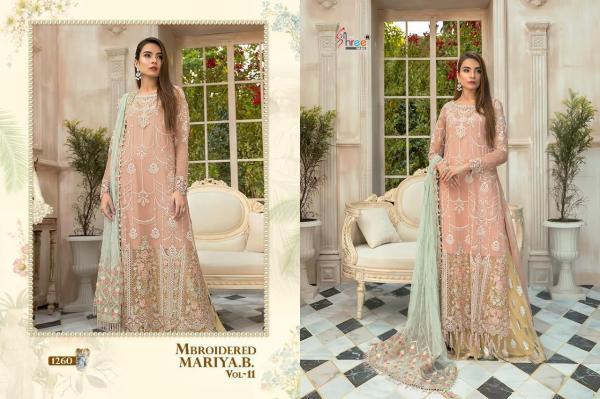 Shree Fab Mbroidered Mariya B Vol-11 1260-1264 Series