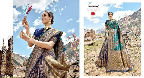 Lifestyle Saree Adhyatm 61121-61126 Series