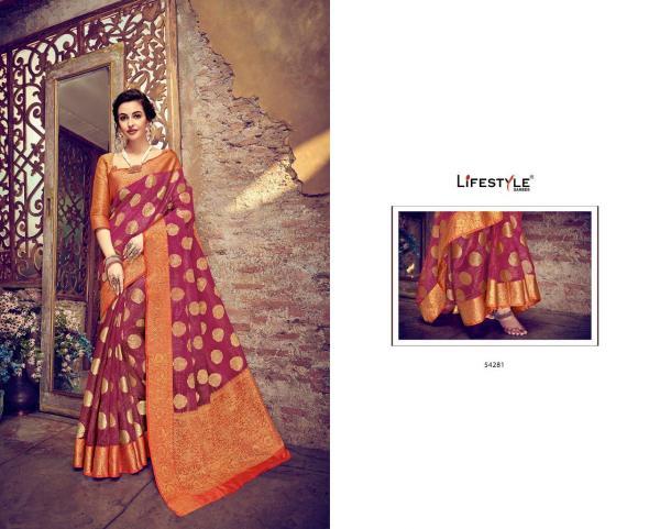 Lifestyle Saree Sahitya 54281-54290 Series