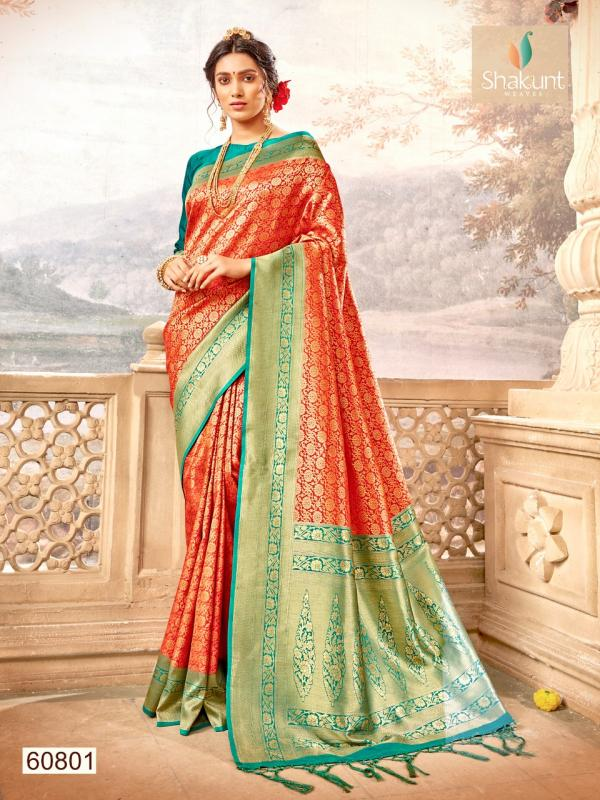 Shakunt Saree Adrija 60801-60804 Series
