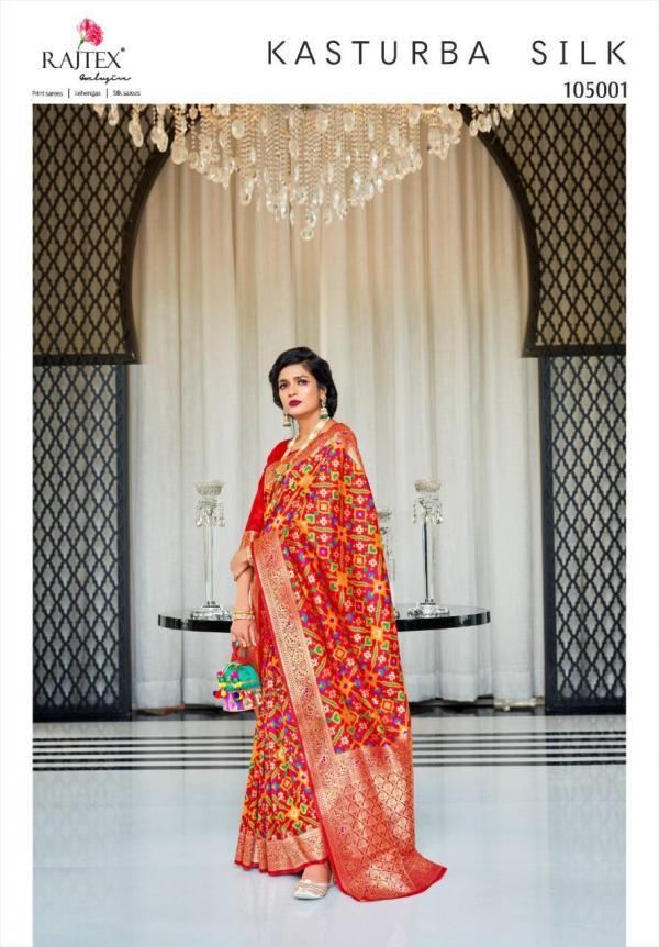 Rajtex Kasturba Silk 105001-105006 Series