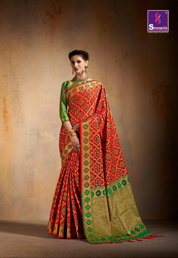 Shangrila Saree Saanvi Silk 5431-5436 Series