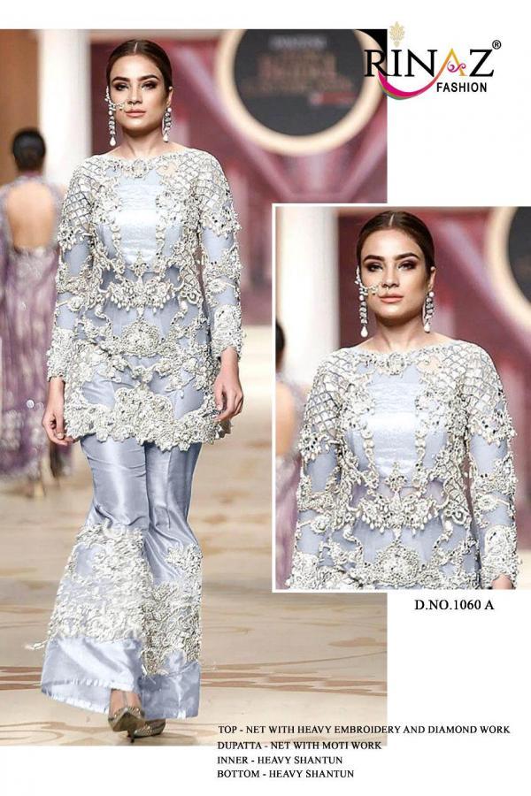 Rinaz Fashion 1060 Colors Net Designer Suits