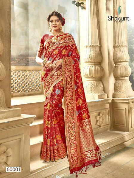 Shakunt Saree Navneeta 60001-60004 Series