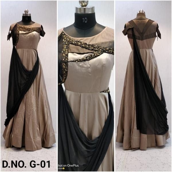 Naree Fashion Gown G-01 G-05 Series