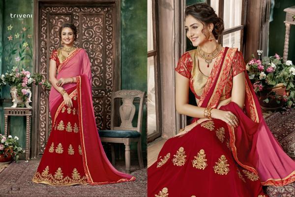 Triveni Saree Devanshi 8601-8608 Series