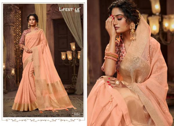 Lifestyle Saree Rimjhim 64201-64206 Series