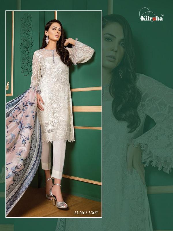 Kilruba Jannat White Luxury Collection 1001-1005 Series